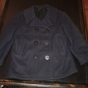 Other - Kids navy pea coat size 12